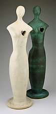 A Full Heart by Cathy Broski (Ceramic Sculpture)