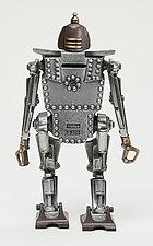 Bob the Robot Coin Bank by Scott Nelles (Metal Bank)