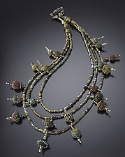 Talisman Necklace by Julie Powell (Beaded Necklace)