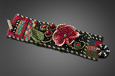 MaKenzie Cuff by Julie Powell (Beaded Bracelet)