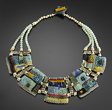 Colorfield Necklace by Julie Powell (Beaded Necklace)