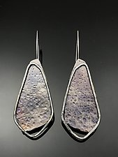 Silhouettes I by Tavia Brown (Silver Earrings)