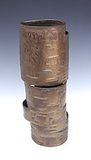Hinged in Bronze by Lenore Lampi (Ceramic Vase)