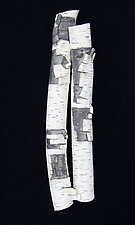 Double High Relief in Birch by Lenore Lampi (Ceramic Wall Sculpture)