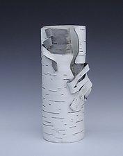 Unfurled Vase by Lenore Lampi (Ceramic Vase)