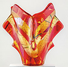 Venice Art Glass Vessel by Varda Avnisan (Art Glass Vessel)