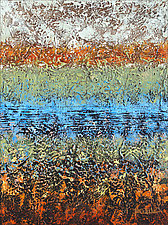 Hidden Pond by Nancy Eckels (Acrylic Painting)