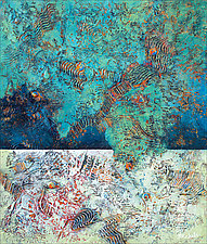 Exploring the Reef by Nancy Eckels (Acrylic Painting)