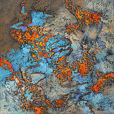 Sizzle II by Nancy Eckels (Acrylic Painting)