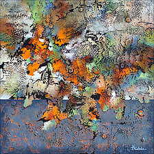 Autumn Bonanza II by Nancy Eckels (Acrylic Painting)
