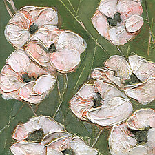 Poppy Wallpaper I by Denise Souza Finney (Acrylic Painting)