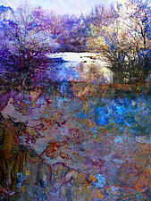 Paysage by LuAnn Ostergaard (Giclee Print)