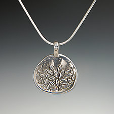 Primavera Pendant by Dean Turner (Silver Necklace)
