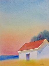 Deer Isle View by Suzanne Siegel (Watercolor Painting)