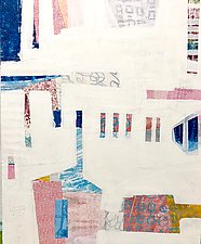 No One Goes it Alone II by Suzanne Siegel (Mixed-Media Painting)