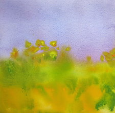 Field III by Suzanne Siegel (Watercolor Painting)