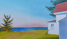 Time Away by Suzanne Siegel (Watercolor Painting)
