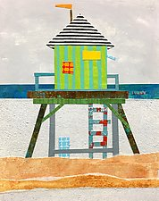 A Day at the Beach II by Suzanne Siegel (Giclee Print)
