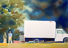 Moving Day by Suzanne Siegel (Watercolor Painting)