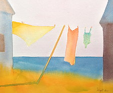 Summer Wash VI by Suzanne Siegel (Watercolor Painting)