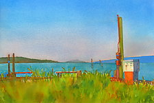 Memorial Day by Suzanne Siegel (Watercolor Painting)