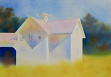 Stony Creek Barn by Suzanne Siegel (Watercolor Painting)