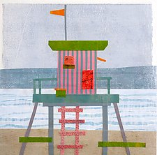 A Day at the Beach III by Suzanne Siegel (Giclee Print)