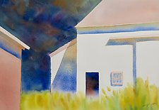 Bauer Farm, July by Suzanne Siegel (Watercolor Painting)