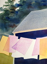 Summer Wash IV by Suzanne Siegel (Watercolor Painting)
