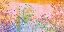 Abstract Grass Forms VIII by Hal Mayforth (Giclee Print)