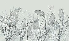 Abstract Plant Forms 17 by Hal Mayforth (Giclee Print)
