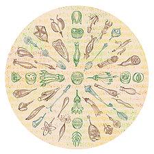 Seed Mandala II by Hal Mayforth (Giclee Print)