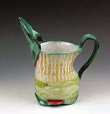 Oval Pitcher I by Peggy Crago (Ceramic Pitcher)