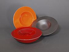 Geode Bowl by James Aarons (Ceramic Sculpture)