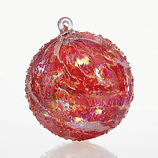 Naughty and Nice by Tom Stoenner (Art Glass Ornament)