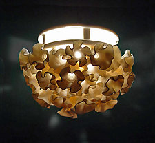 Flowers Pendant Lamp by Lilach Lotan (Ceramic Pendant Lamp)