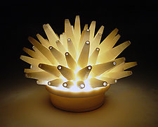 Spikes Mini-Light by Lilach Lotan (Ceramic Lamp)