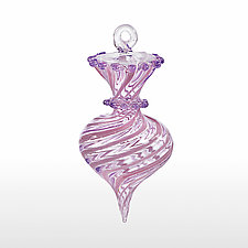 Violette by James F. Byrnes (Art Glass Ornament)