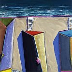 Coastal Shadows 5 by Doug Morris (Giclée Print)