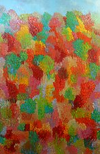 Autumnal Hillside by Jeff  Ferst (Oil Painting)