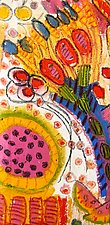 Still Life with Mixed Flowers by Jeff  Ferst (Mixed-Media Painting)