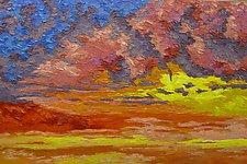 Walking on a Cloud by Jeff  Ferst (Oil Painting)