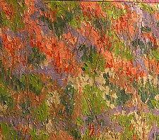 Woodland Hillside by Jeff  Ferst (Oil Painting)
