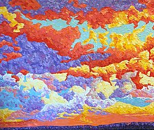 A New Dawn by Jeff  Ferst (Oil Painting)
