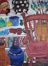 The Studio by Elisa Root (Oil Painting)
