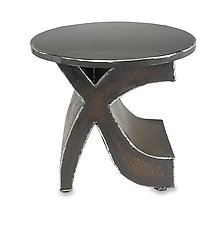 Mark Side Table by Ben Gatski and Kate Gatski (Metal Side Table)