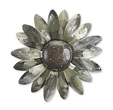 Sunflower Wall Sculpture by Ben Gatski and Kate Gatski (Metal Wall Sculpture)
