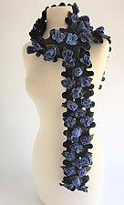 Sari Scarf by Elizabeth Rubidge  (Felted Wool Scarf)