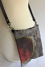 Rita Mini Bag by Elizabeth Rubidge  (Silk and Wool Felted Bag)
