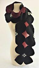 Cassidy Scarf by Elizabeth Rubidge  (Silk & Wool Scarf)